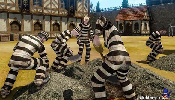 Prigionieri carcerati ArcheAge