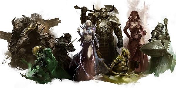 Guild Wars 2: anteprima delle classi/professioni disponibili