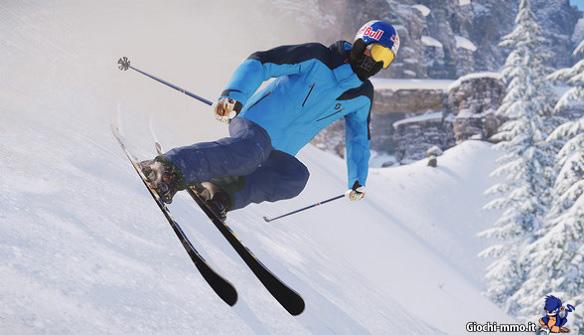 Sciatore Snow
