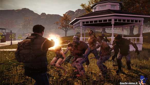 Sparatoria zombie State of Decay