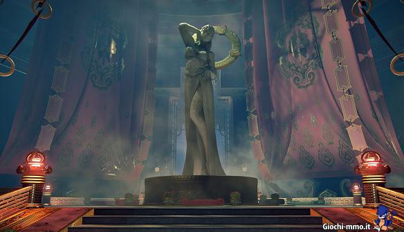 Statua di pietra Skyforge