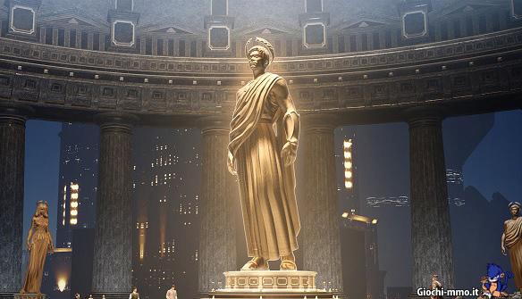 Statua d'oro Skyforge