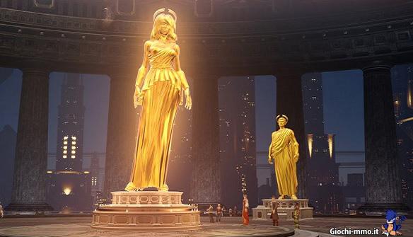 Statua oro Skyforge