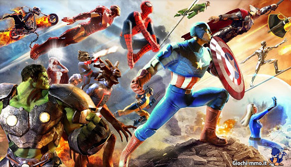 Supereroi Marvel Heroes