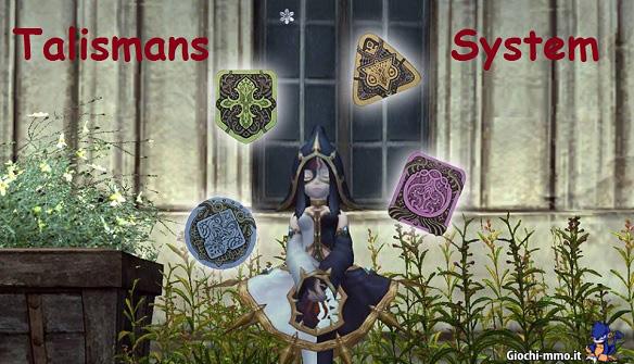Talisman system Dragon Nest