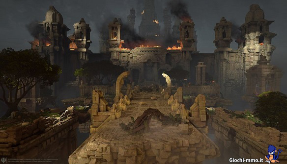 Tempio in fiamme Skyforge