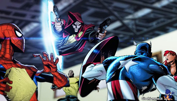 Video fumetto Marvel Heroes