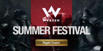 WEBZEN: summer festival e regali per tutti