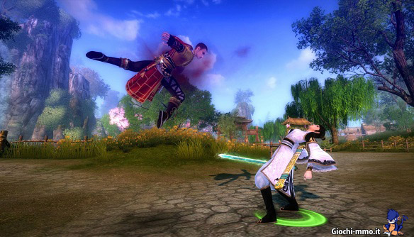 acrobazia Age of Wushu