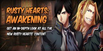 Awakening: primo grande aggiornamento per Rusty Hearts