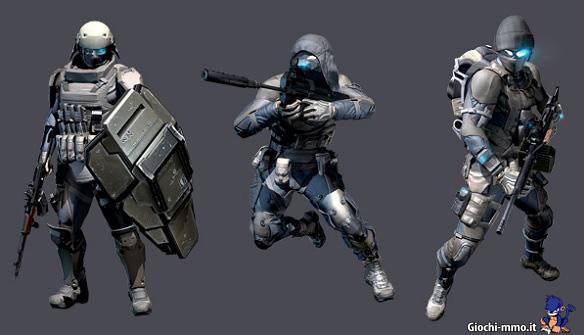classi Ghost Recon Phantoms