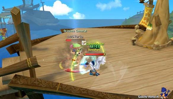 combattimento Heva Clonia Online