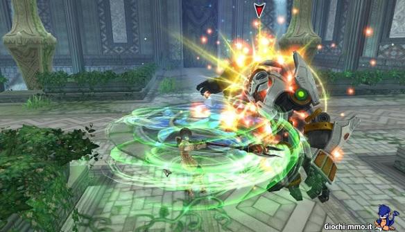 combattimento mostro Aura Kingdom