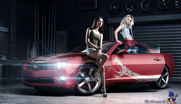 donne e auto in World of Speed