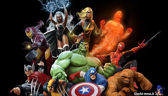 eroi di Marvel Heroes
