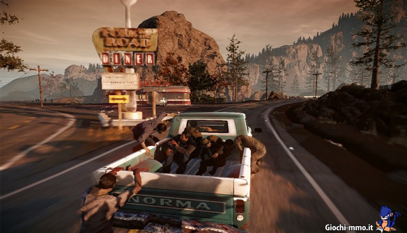 furgone con zombie  State of Decay