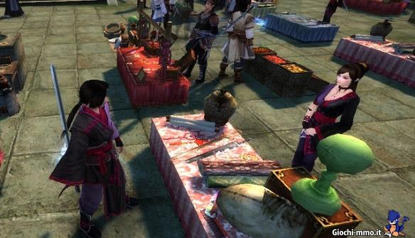 mercato Age of Wushu