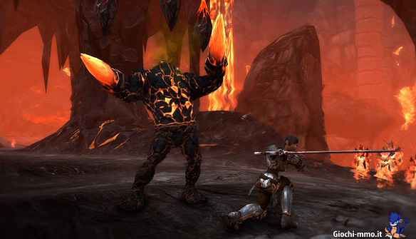 mostro lava neverwinter