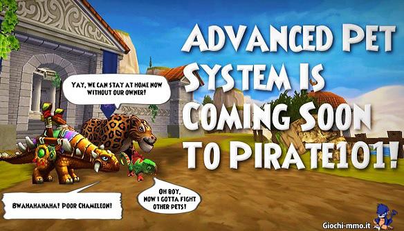nuovo pet system Pirate101