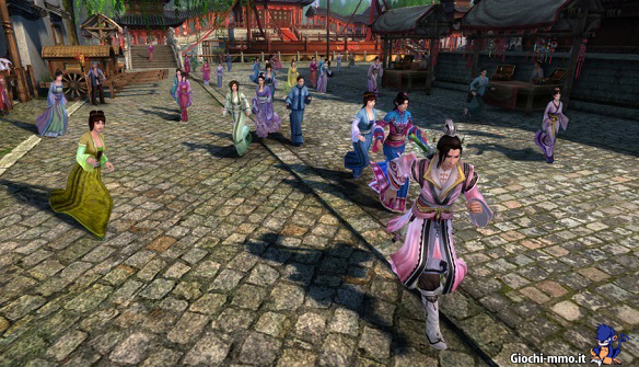 personaggi age of wushu