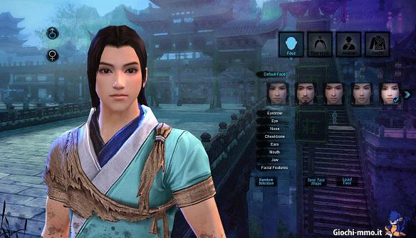 personaggio Age of Wushu
