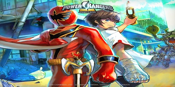 I Power Rangers in un action MMORPG