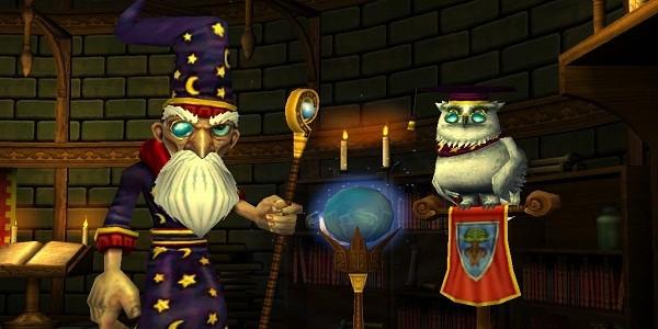 Wizard101: gioco di ruolo ambientato in un mondo magico