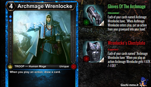 Archmage equipaggiamento HEX Shards of Fate
