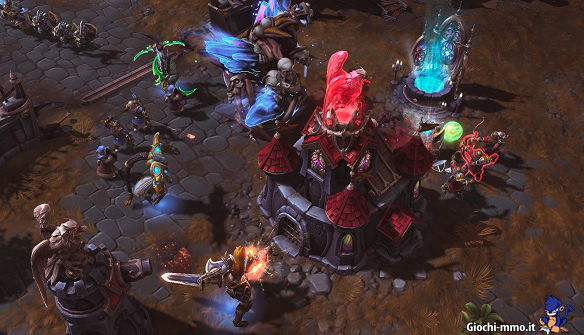 Attacco base Heroes of the Storm