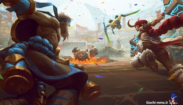 Battlerite nuovo gioco MOBA