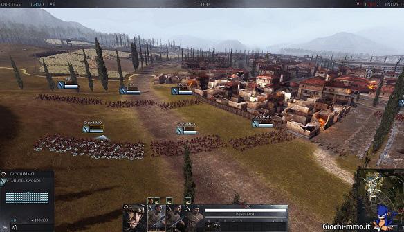 Campo di battaglia Total War Arena