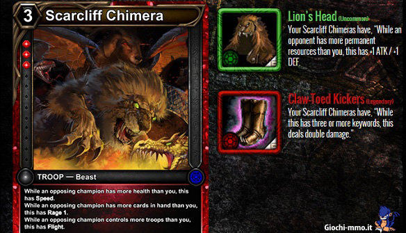 Chimera HEX Shards of Fate