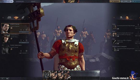 Comandanti Total War Arena