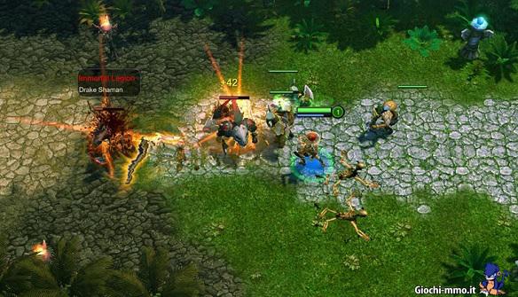 Combattimento Chaos Online