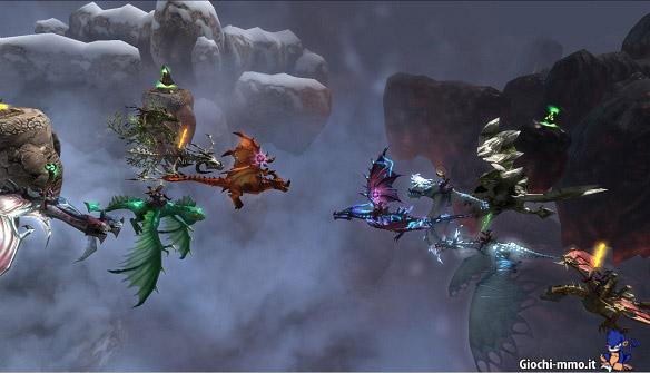 Combattimento Dragons and Titans