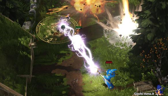 Combattimento Magicka Wizard Wars
