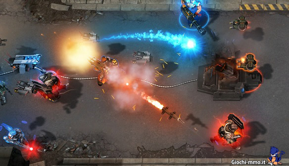 Combattimento Shards of War