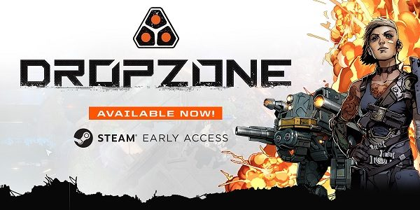 DropZone: nuovo RTS-MOBA su Steam Early Access