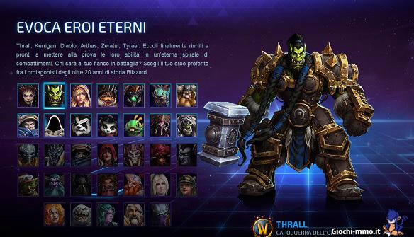 Eroi eterni Heroes of the Storm