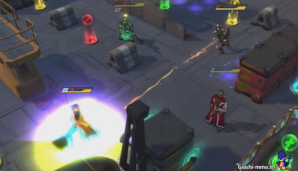 Gameplay Atlas Reactor