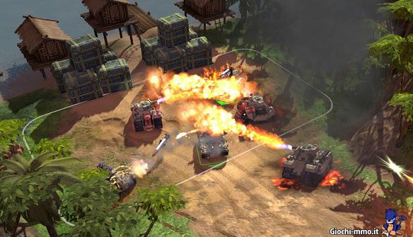 Gameplay Battle Battalions