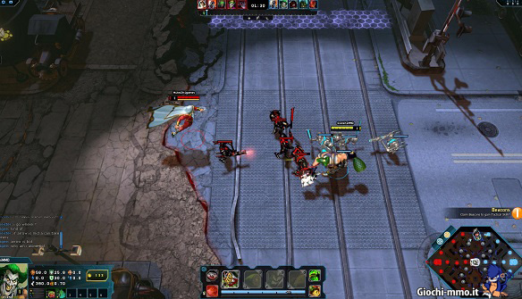 Gameplay Infinite Crisis