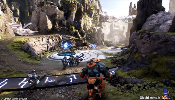 Gameplay alpha Paragon