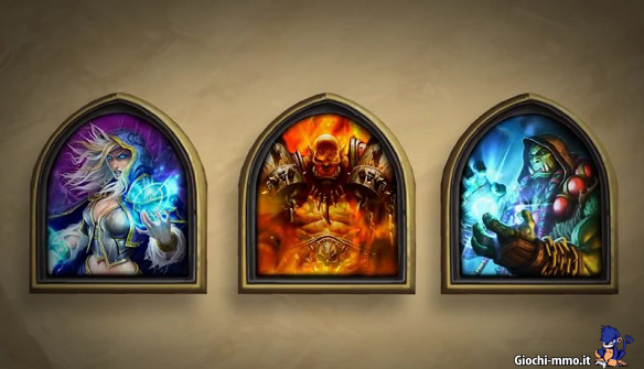 Golden Heroes in Hearthstone