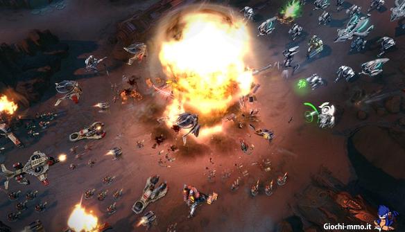 Guerra tra eserciti in Supernova