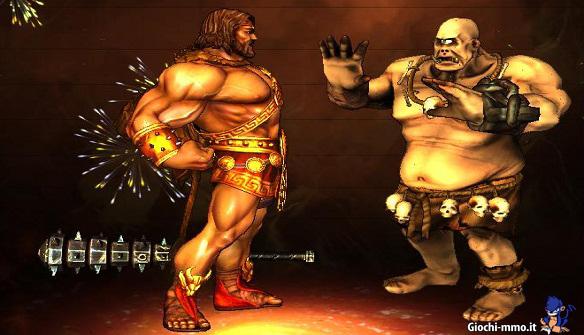 Hercules e Orco in SMITE