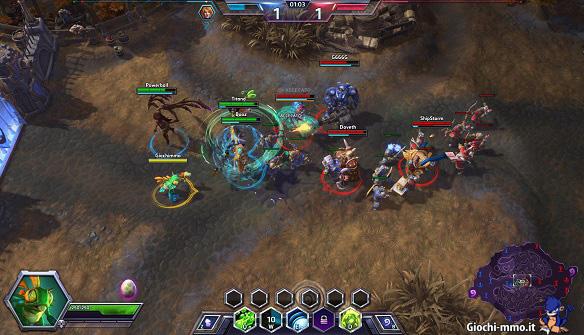 HeroesOfTheStorm eroi in battaglia