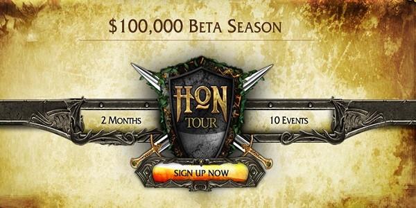 HoN Tour Beta: 100.000 dollari in palio