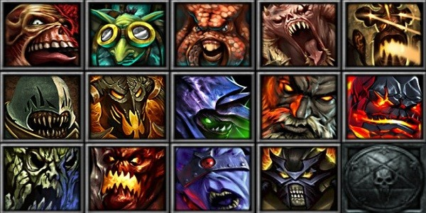 "I personaggi ""Hellbourne Strength"" di Heroes of Newerth"