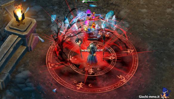 Incantesimo Magicka Wizard Wars